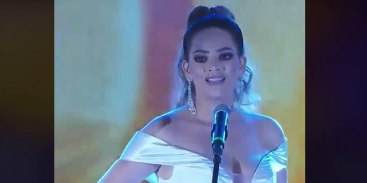 VIDEO. Candidata a Reina del Carnaval de Mazatlán pasa vergonzoso momento en la ronda de preguntas