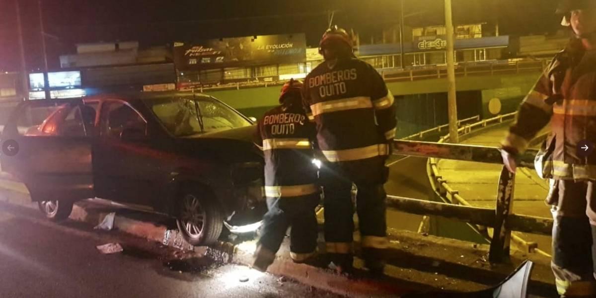 Dos accidentes en las últimas horas en Quito dejan un fallecido y dos heridos