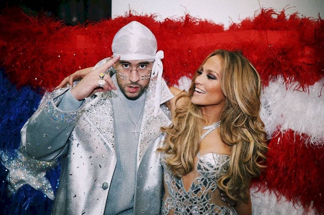 Bad Bunny y Jennifer Lopez
