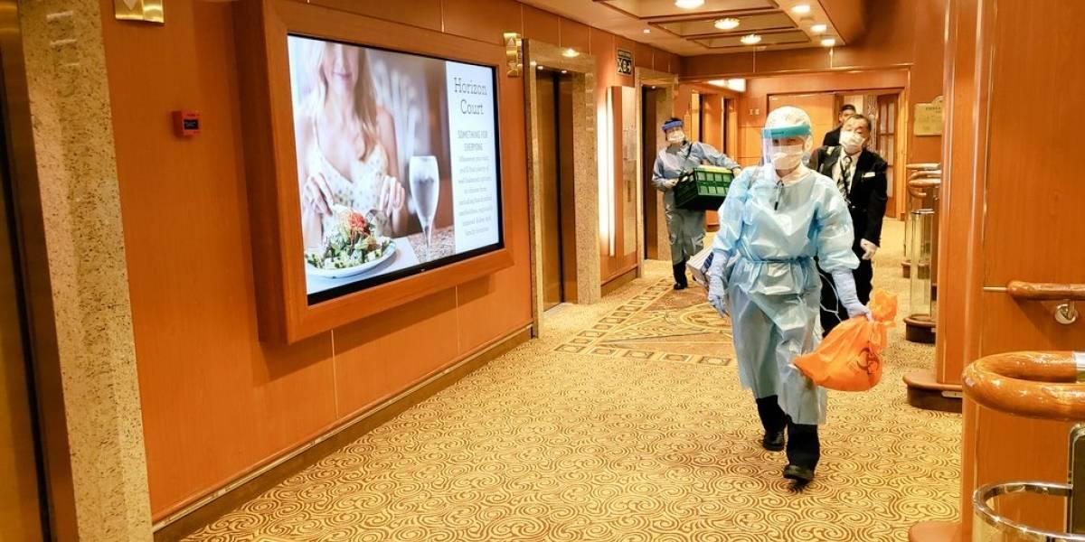 El drama del Diamond Princess, el crucero en cuarentena en Japón que suma 61 casos de coronavirus a bordo
