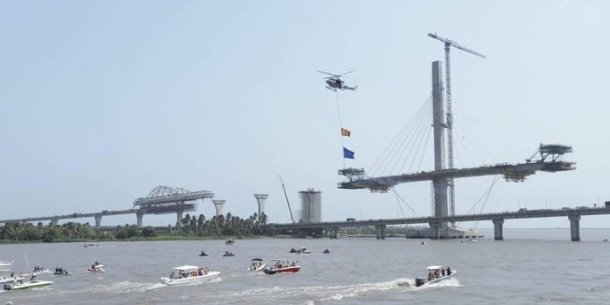 La Guacherna Fluvial navegará bajo la megaobra del nuevo el Puente Pumarejo