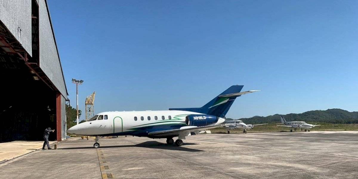 VIDEO. Así fue el despegue del jet que fue localizado con ilícitos en Petén