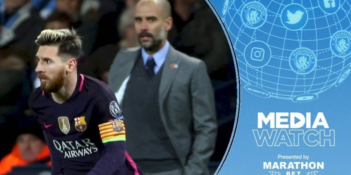 VIDEO. Esto dice Manchester City en su portal web sobre Lionel Messi
