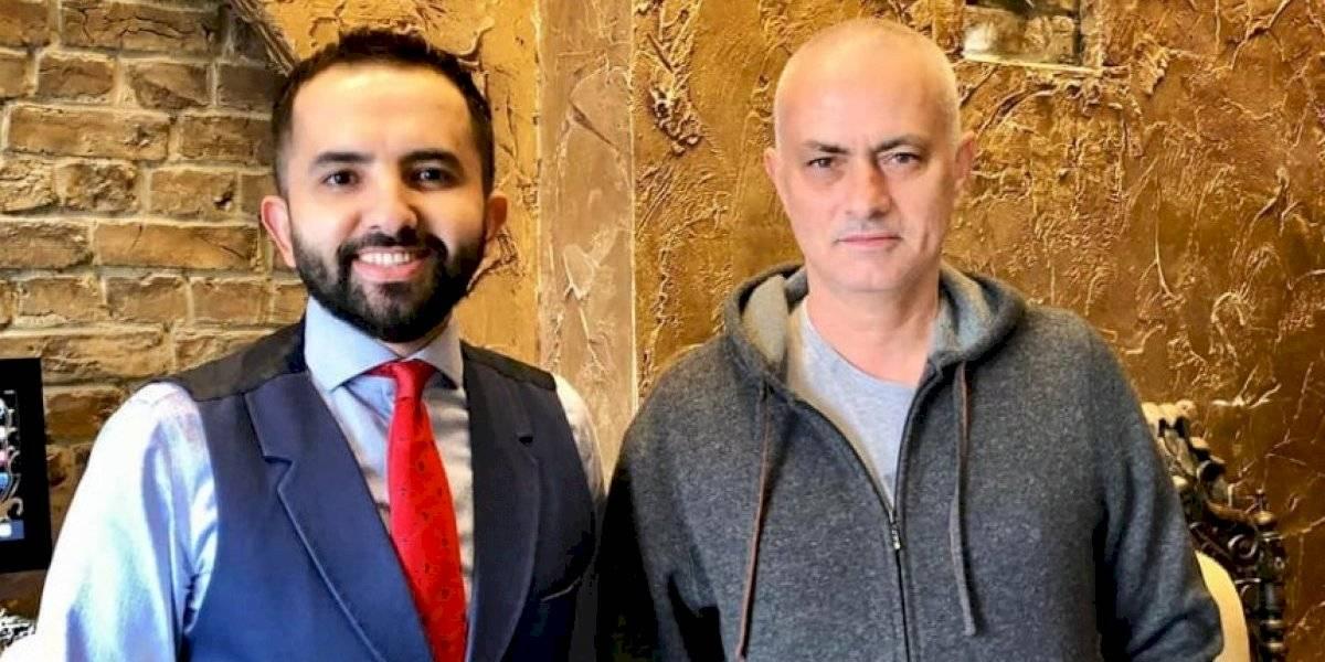 José Mourinho paraliza las redes sociales con su nuevo look