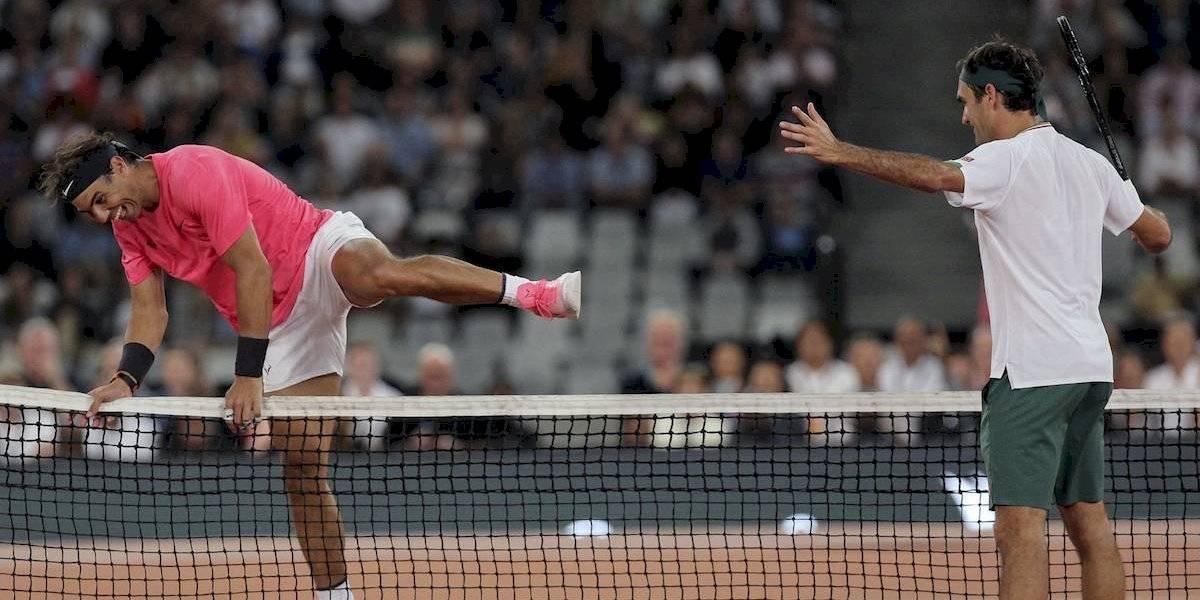Federer y Nadal baten récord de asistencia en Sudáfrica