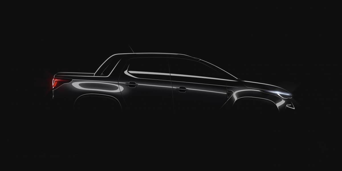 Fiat revela primeira imagem da nova Strada