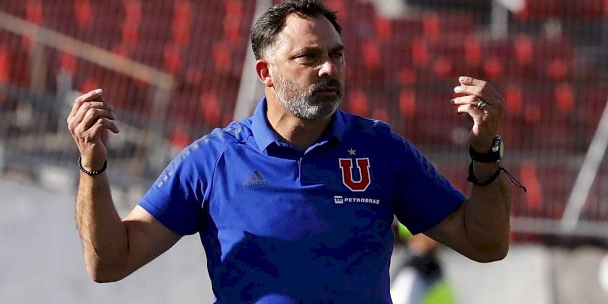 """Caputto no se guardará nada para la Libertadores y usará lo mejor de la U para romper la """"maldición"""" ante La Calera"""