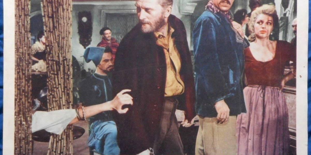 Kirk Douglas y las películas en las que brilló con el mexicano Anthony Quinn