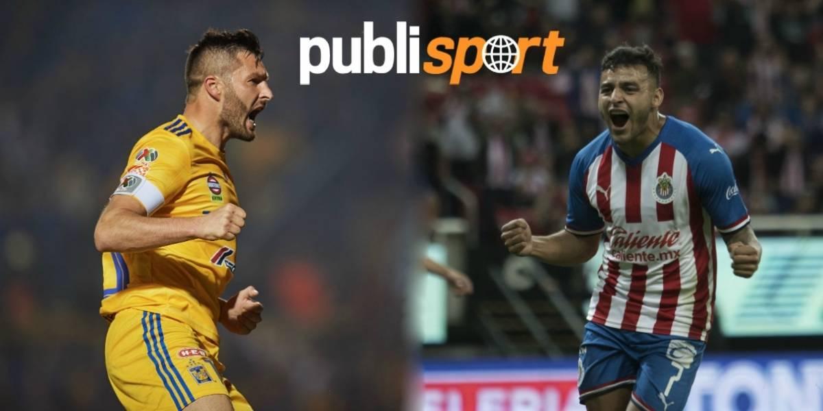 Tigres vs Chivas ¿Dónde y a que hora ver el partido?