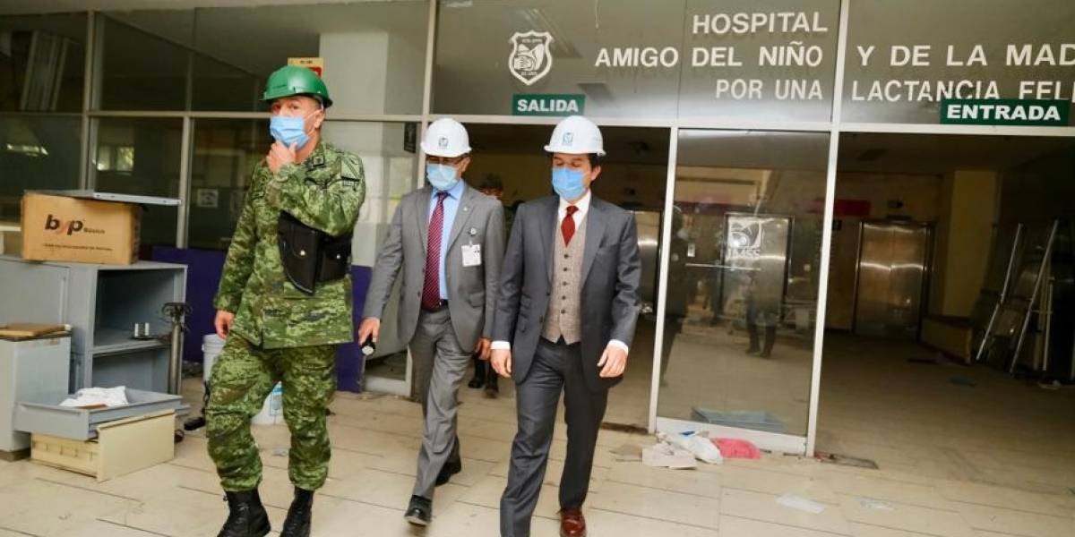 Sedena reconstruirá el Hospital de San Alejandro afectado por el sismo del 19S