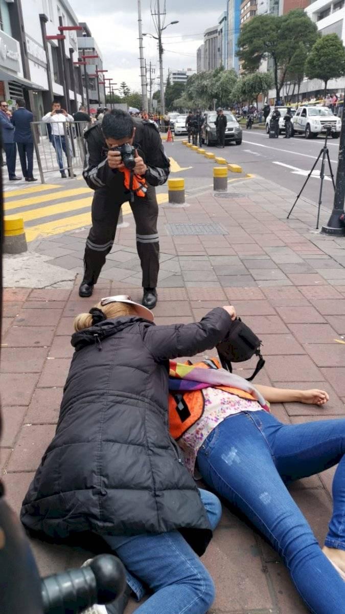Amiga de Mariana relata cómo fue el momento de los disparos Oscar Ayo