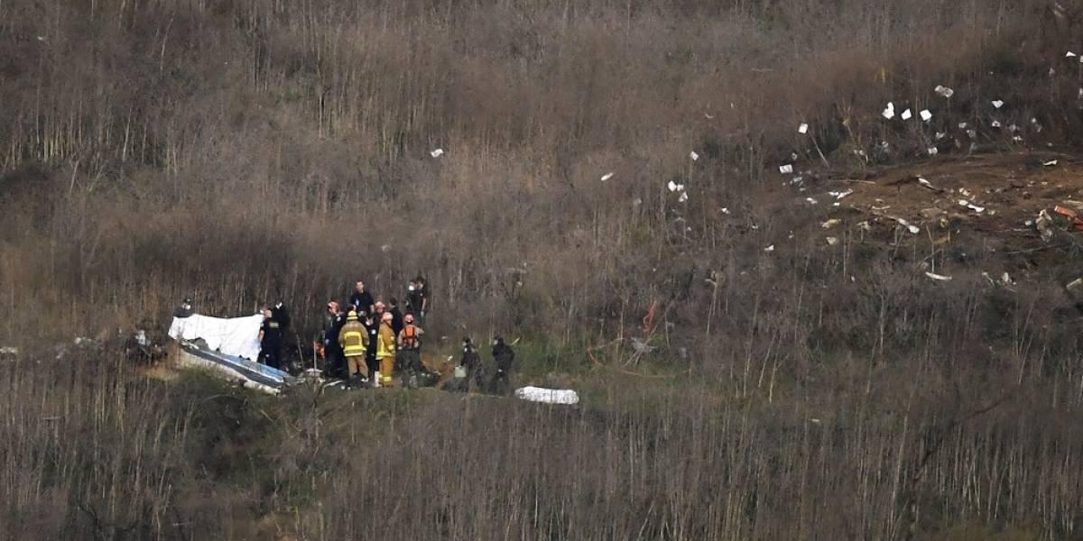 Informe preliminar descarta daños en motores de helicóptero en que murió Kobe Bryant