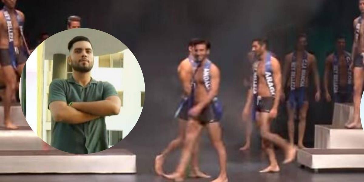 (VIDEO) Participante de reinado masculino denuncia haber sido acosado sexualmente