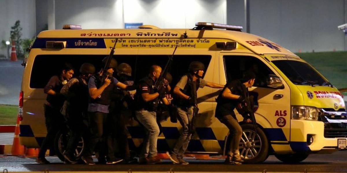 Tiroteo en Tailandia: sargento mató a 21 personas en un cuartel y un centro comercial