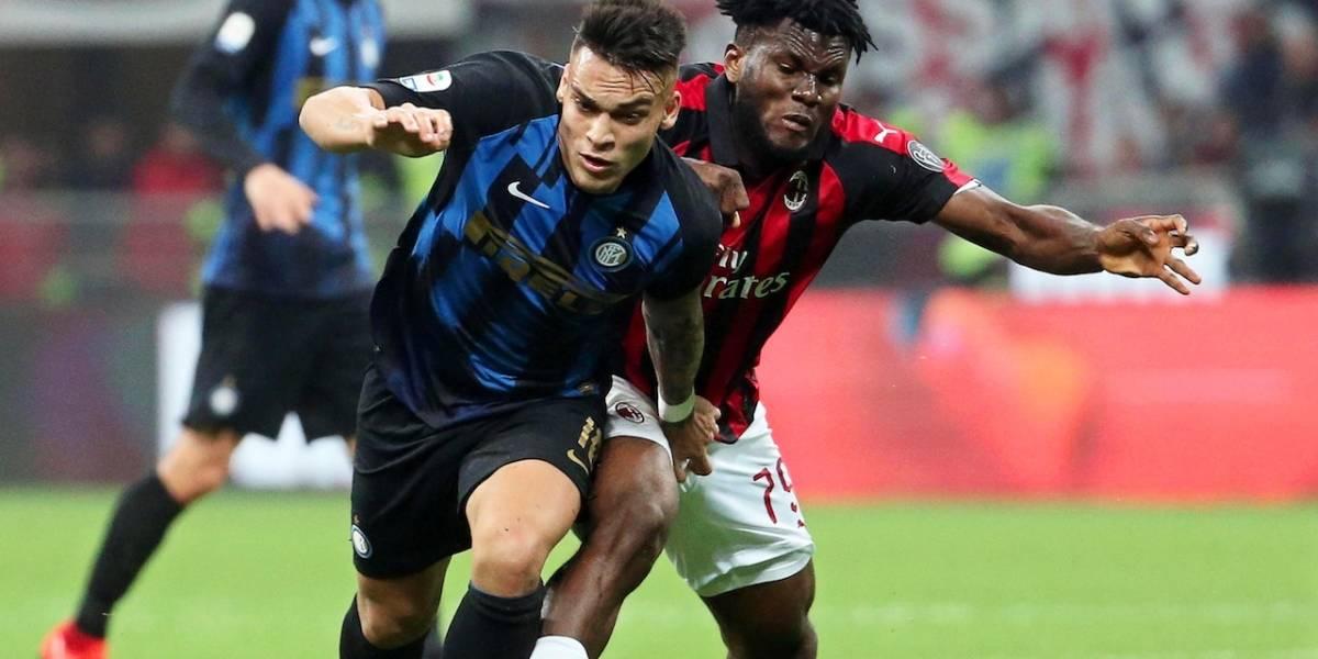 Inter vs. Milán: Derby della Madonnina con mucho en juego en la Serie A