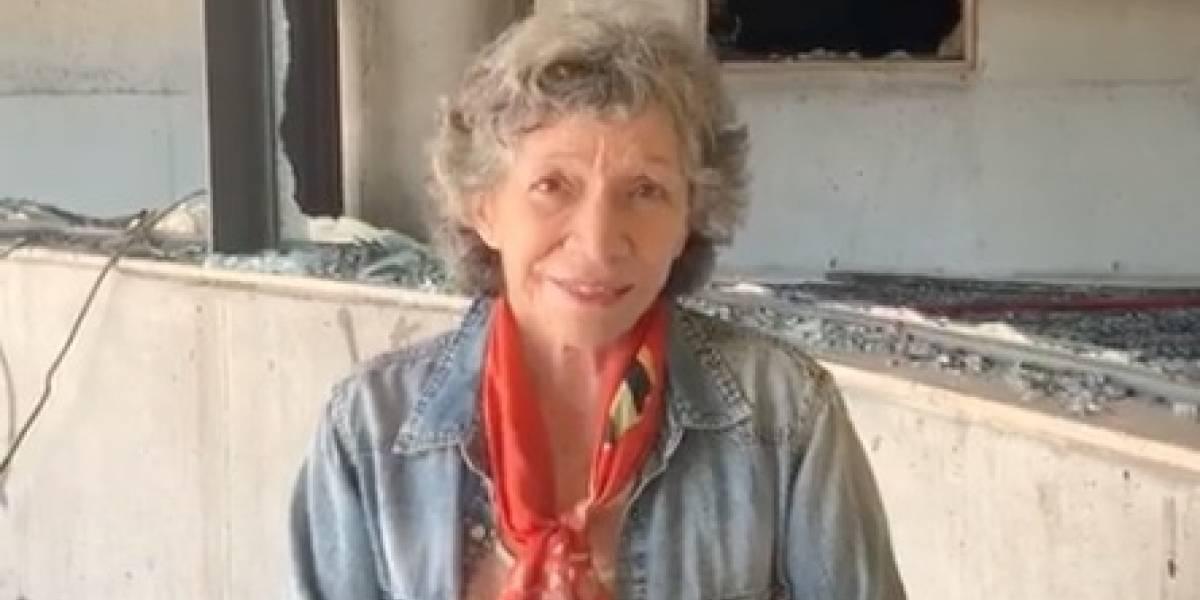 """Isabel Parra aclara qué pasó con obra de Violeta Parra tras el incendio en el museo: """"Está resguardada"""""""
