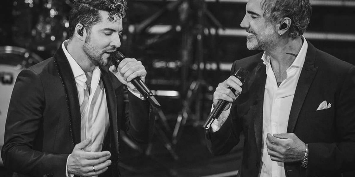 David Bisbal asegura que grabar con Alejandro Fernández fue un sueño hecho realidad