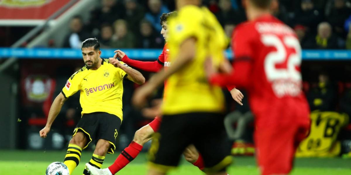 VIDEO: Emre Can marca uno de los mejores goles en la Bundesliga