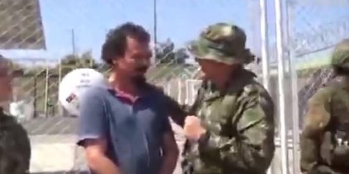 (VIDEO) Rescatan a un líder social secuestrado por el ELN hace 5 meses en Colombia