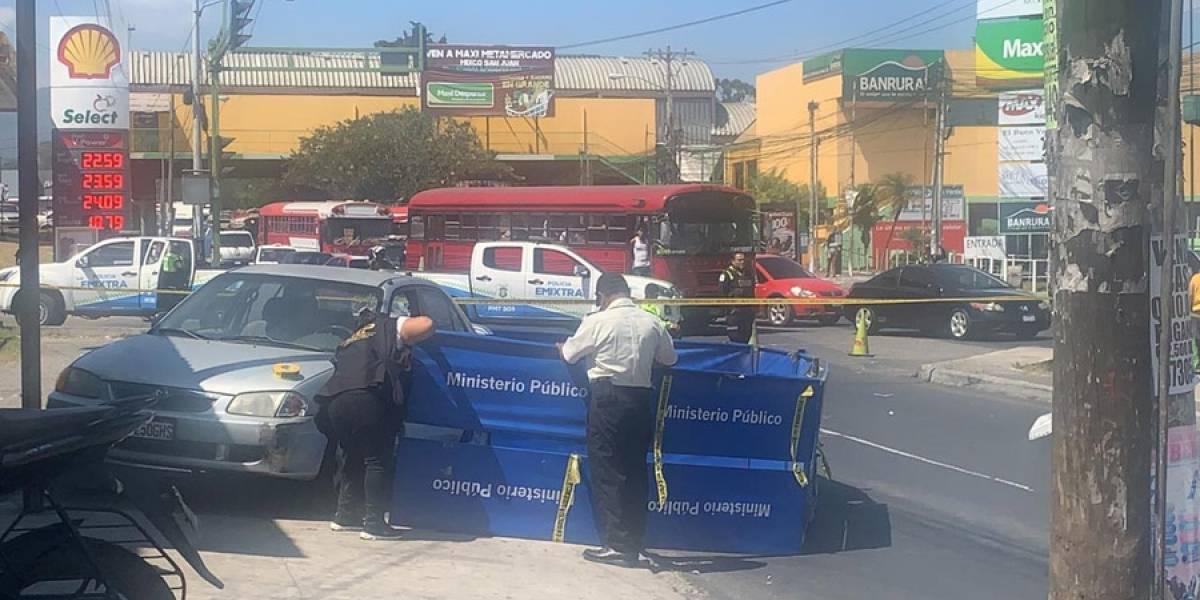Dos personas mueren por paro cardíaco en Mixco