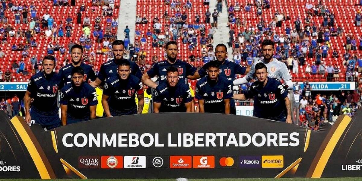 La U sale a la cancha del Nacional con la misma oncena que por Copa Libertadores para enfrentar a La Calera