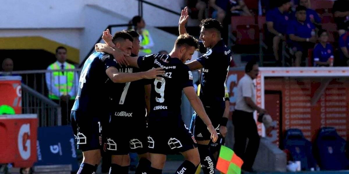 La U golea a La Calera y consigue su segundo triunfo consecutivo en el Campeonato Nacional