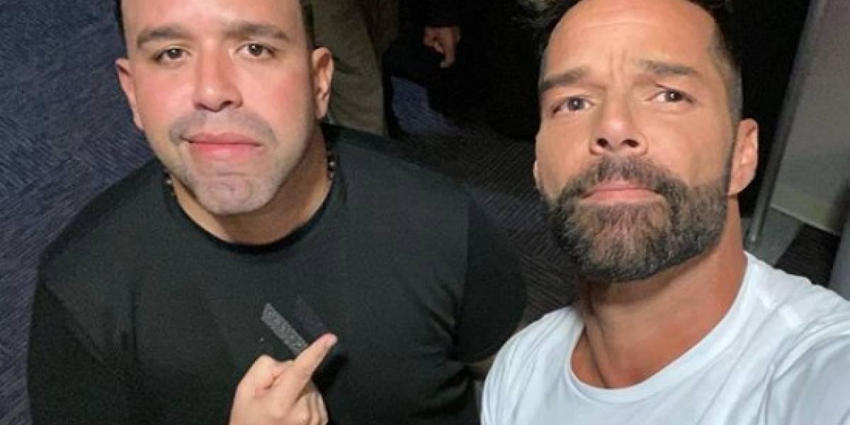 Sorprendido el Molusco con petición de hijo de Ricky Martin