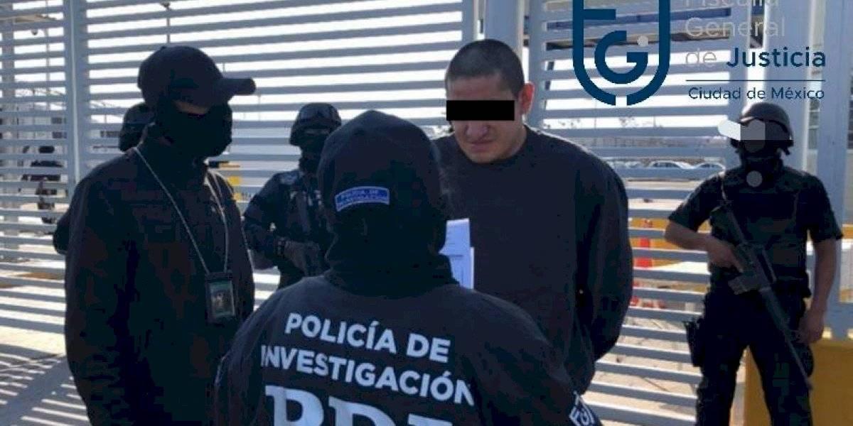 'El Lunares' es detenido de nueva cuenta por policía de la CDMX