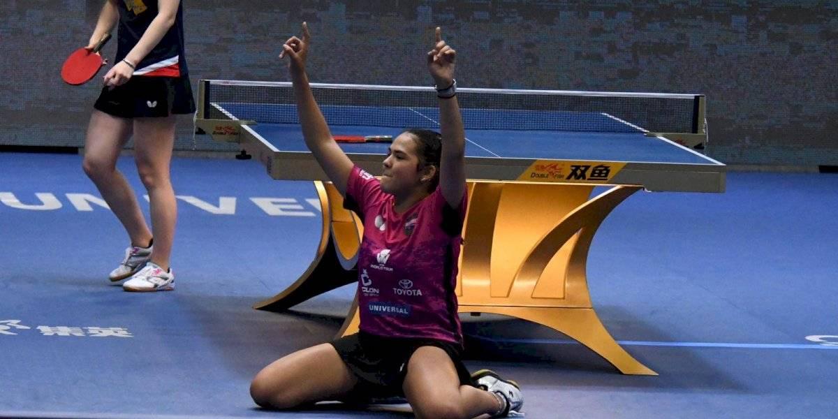 Adriana Díaz pasa al cuadro principal en la Copa del Mundo en China