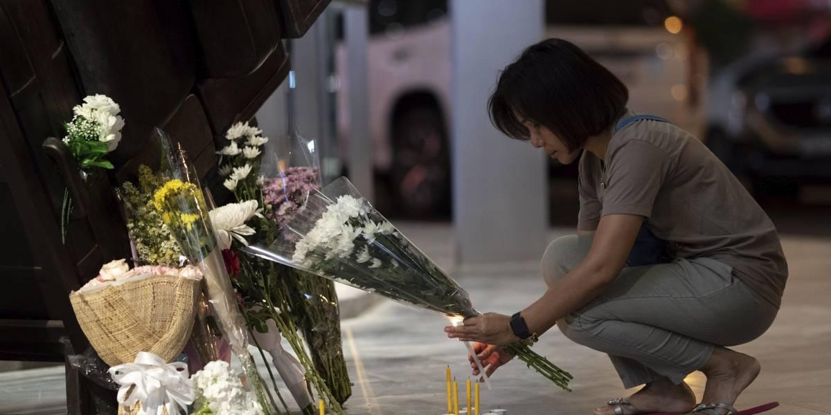 Tailandia está de luto después del peor tiroteo en el país