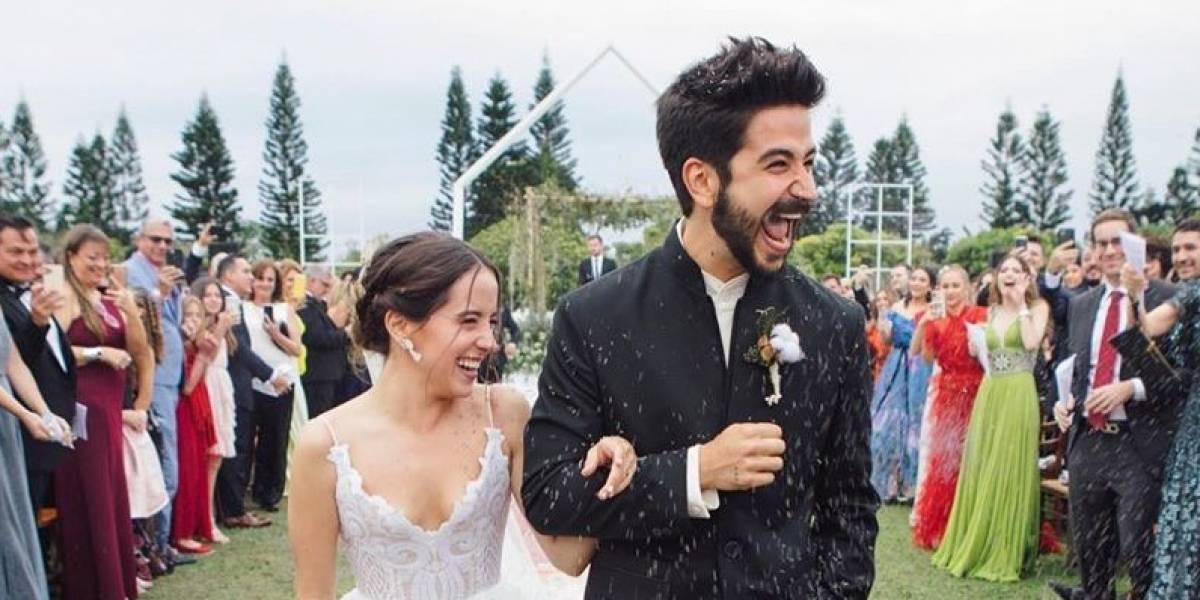 Camilo rompe a llorar de felicidad al leer sus votos en su boda con Evaluna Montaner ¡Una historia de amor rosa!