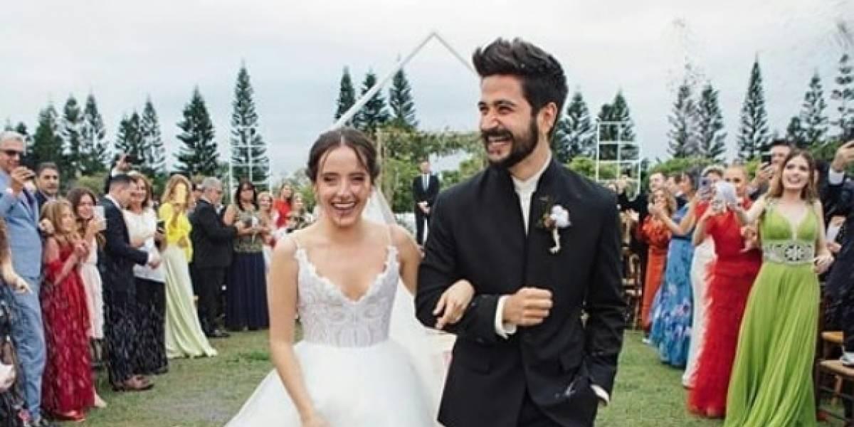FOTOS. Camilo y Evaluna Montaner se casaron y así fue la romántica boda