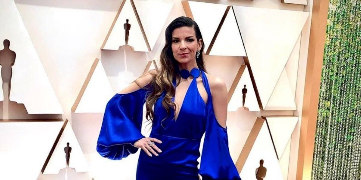 Así fue la interpretación de Carmen Sarahí en los Premios Óscar