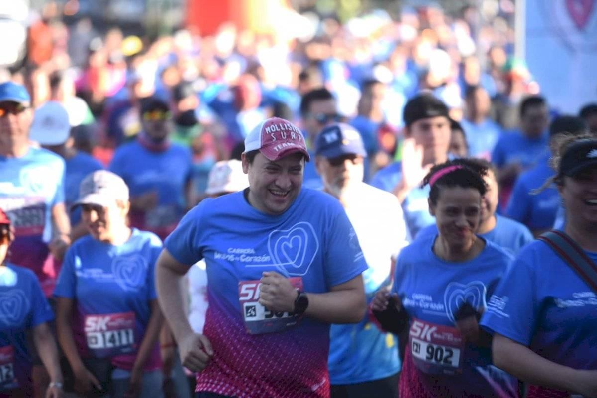 Foto Edwin Bercián | Miles de personas participaron de la carrera Unidos de Corazón