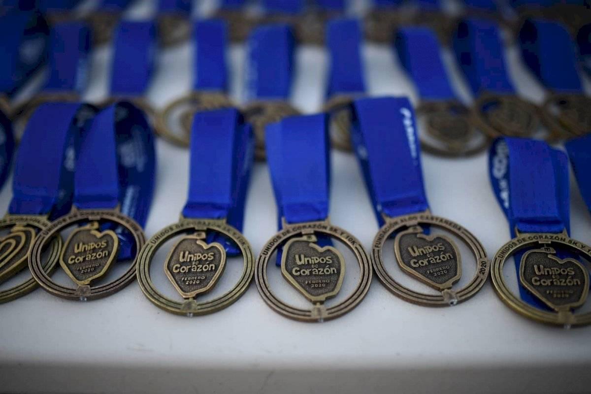 Foto Edwin Bercián | Medallas conmemorativas dadas a los ganadores