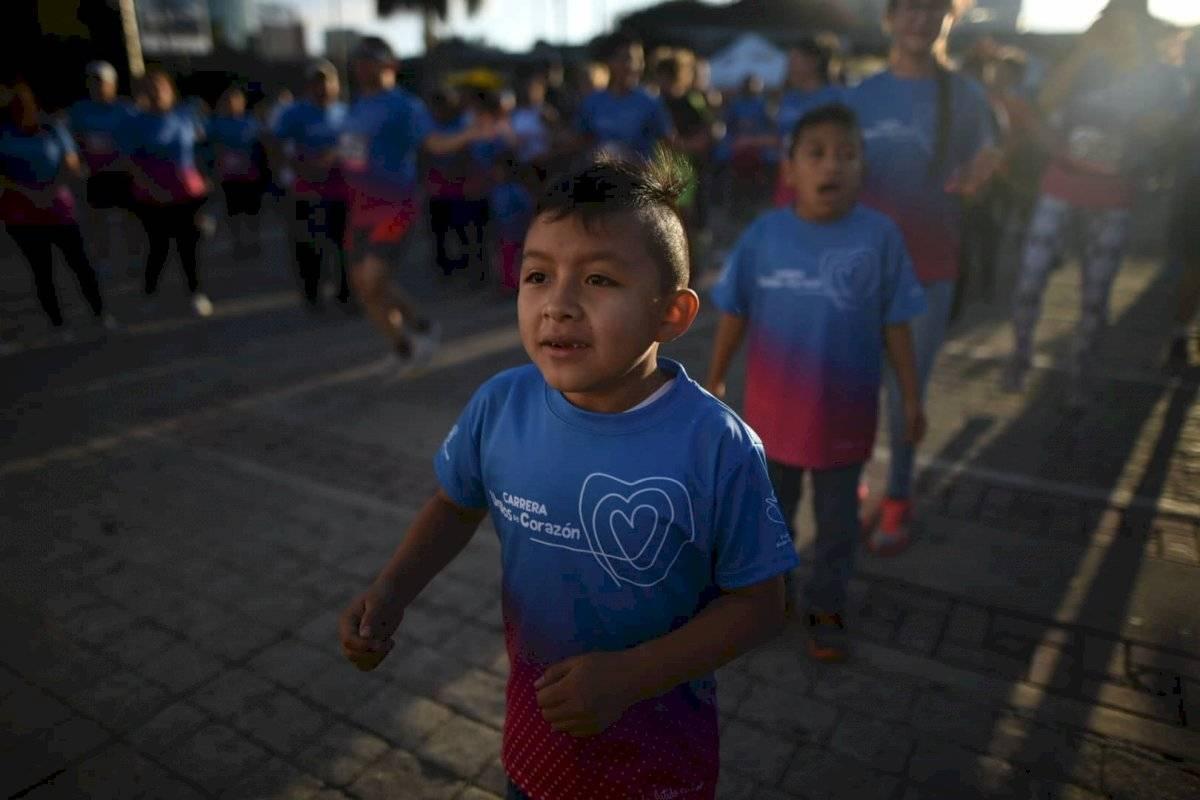 Foto Edwin Bercián | Los niños participaron de las actividades previas a la competencia