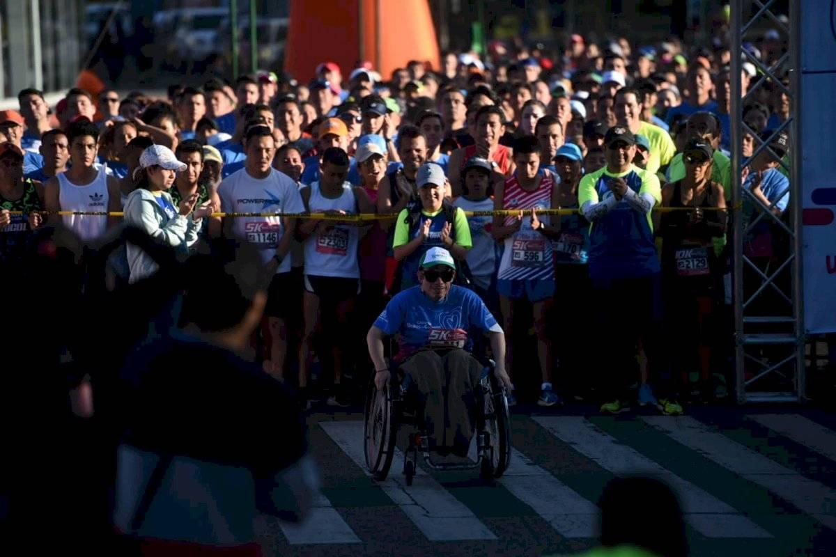 Foto Edwin Bercián | Desde las 07:00 horas comenzó la séptima carrera Unidos de Corazón