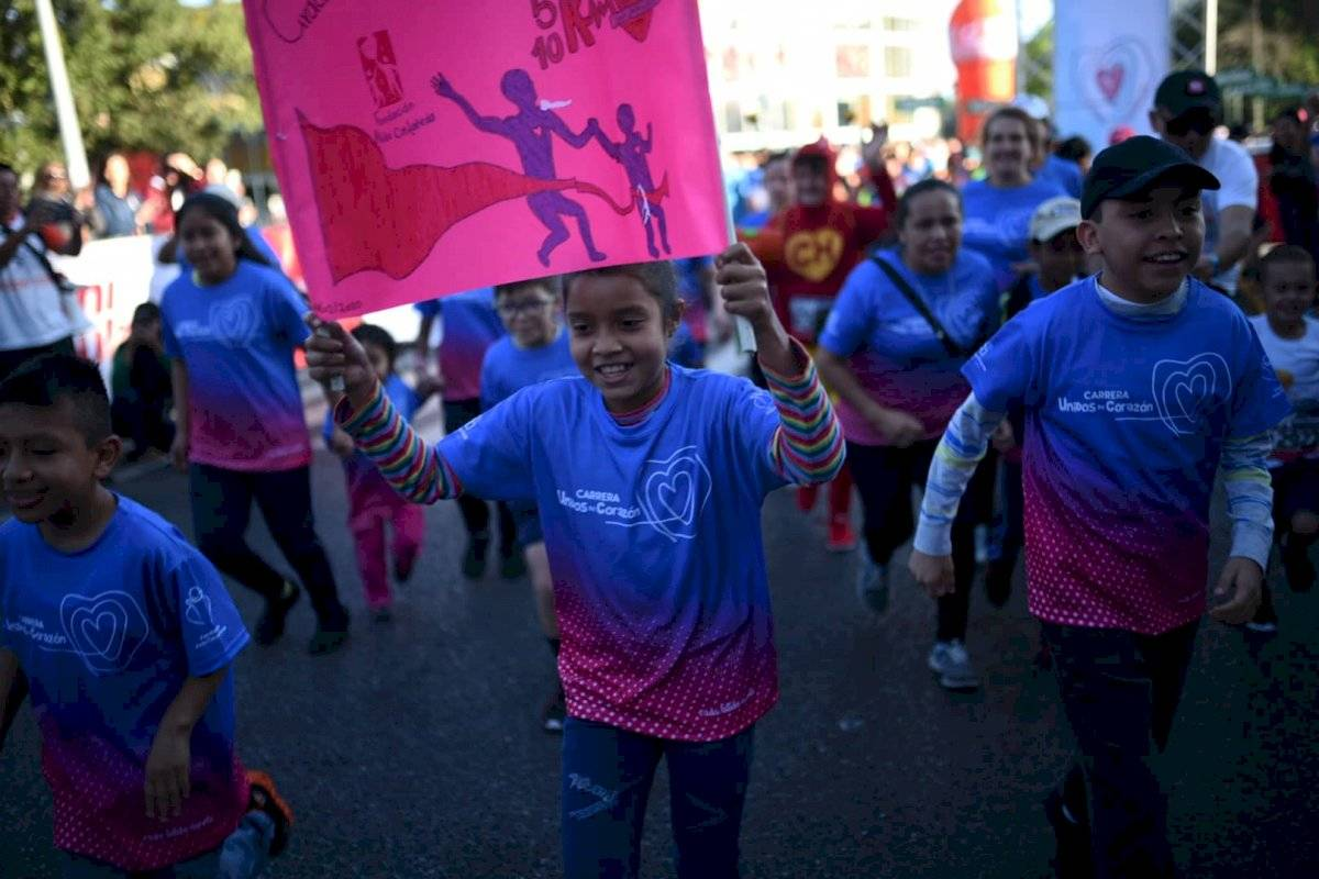 Foto Edwin Bercián | Niños que ya han recibido una cirugía formaron parte del evento