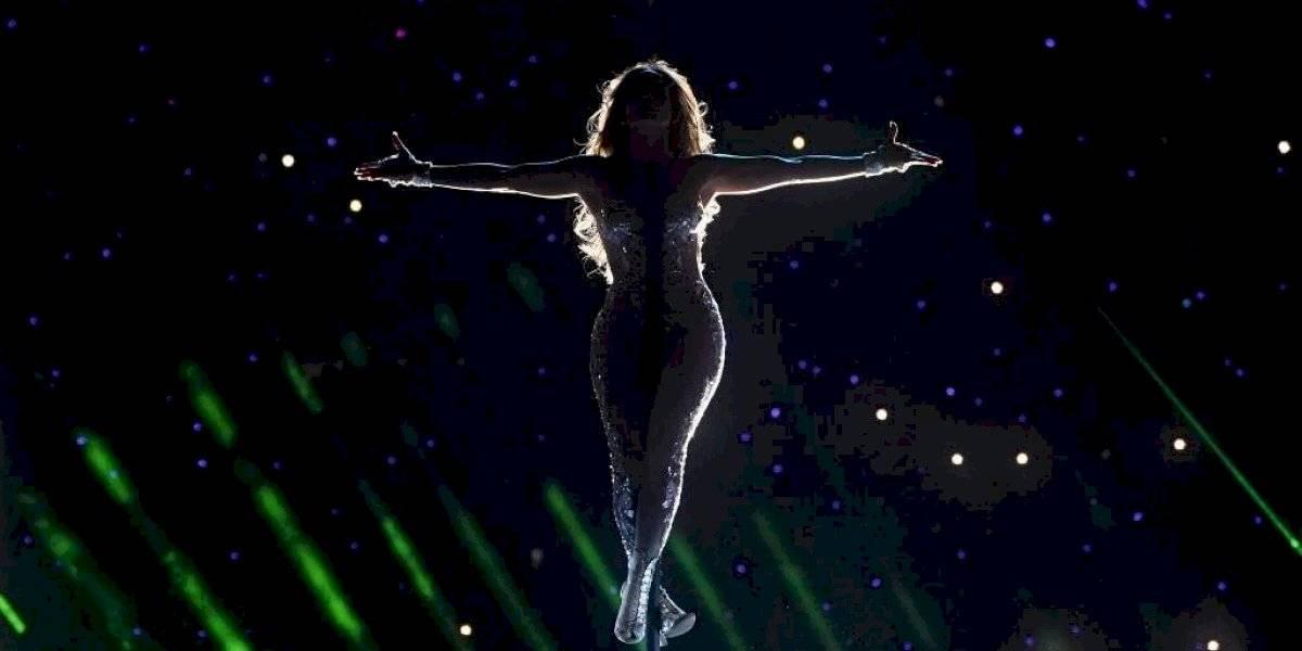 "VIDEO. Cristiano demandará a la NFL por ""orgía"" de Shakira y Jennifer López"