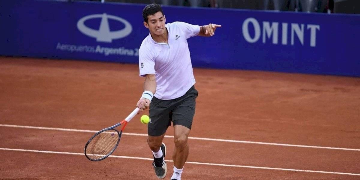 """Cristian Garin luego de meterse a la final del ATP de Córdoba: """"No me esperaba tener resultados tan rápido"""""""