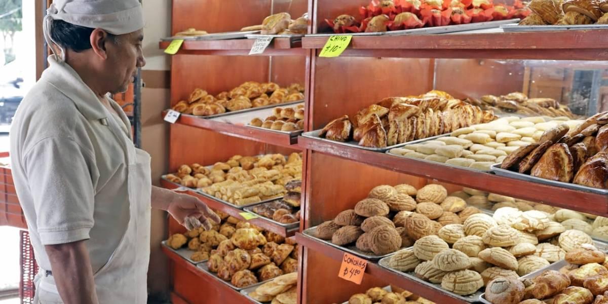 Este lunes aplican aumento al pan de dulce