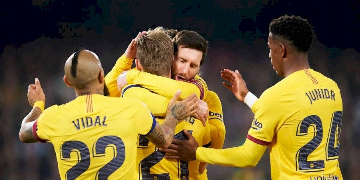 Barcelona derrota a Real Betis con la presencia de Vidal y acorta la ventaja de Real Madrid en la cima de la Liga
