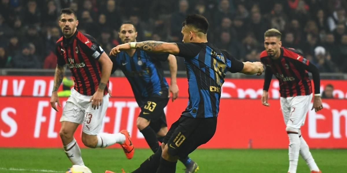 Así terminaron los últimos cinco derbis Inter vs Milan