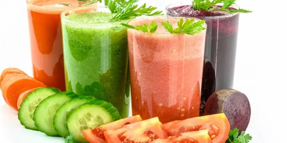 Prepara en casa estos jugos antioxidantes que te ayudan a bajar de peso