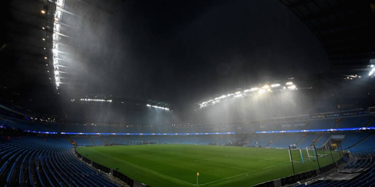 Aplazan el Manchester City-West Ham por tormenta