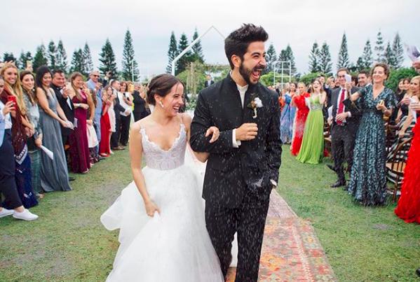 Los detalles secretos del matrimonio de Eva Luna y Camilo