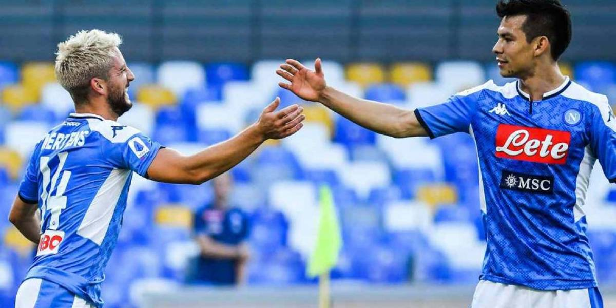Napoli vs Lecce: Estos son los partidos que le restan al equipo del Chucky Lozano