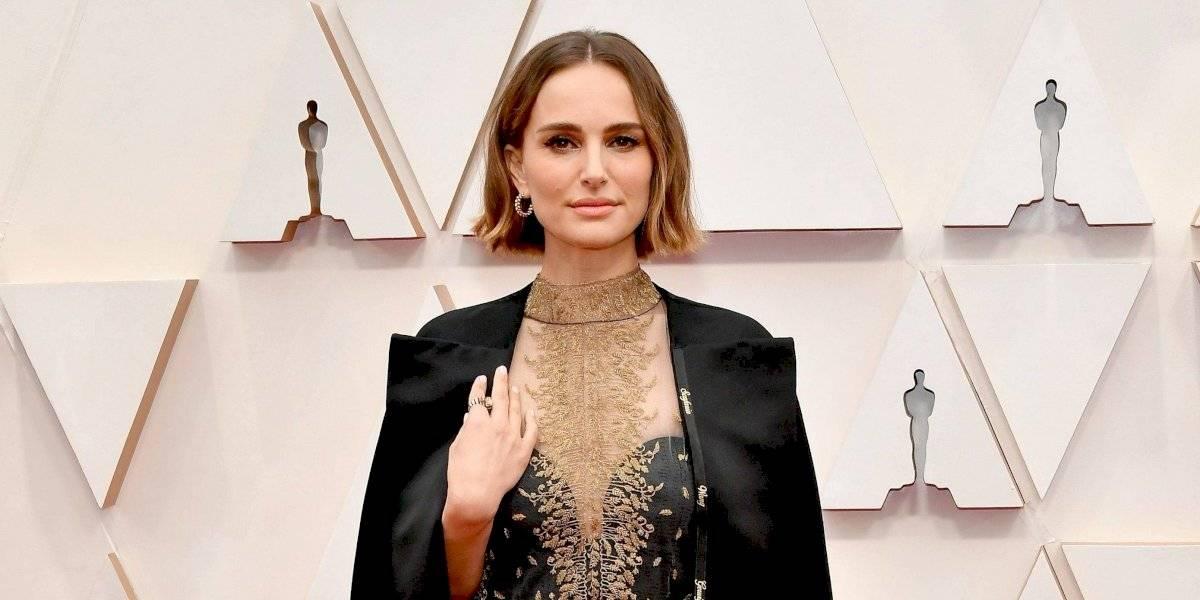 Natalie Portman critica a la Academia en los Premios Óscar 2020