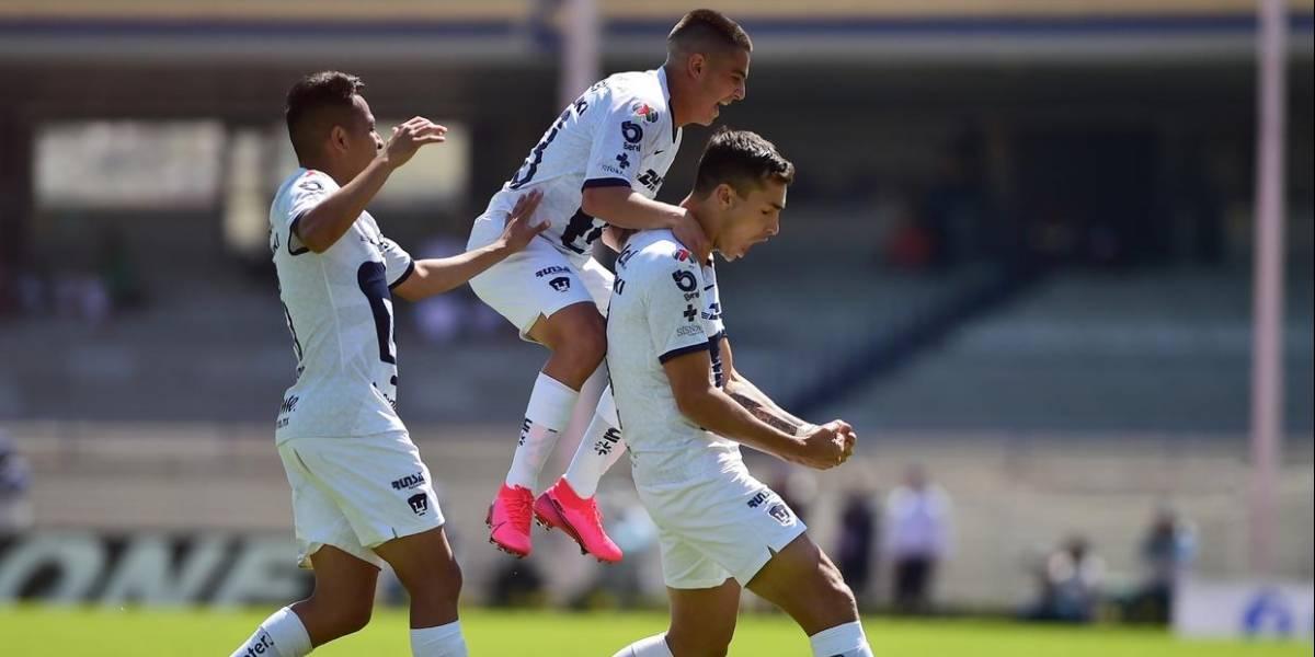 Pumas vs Atl San Luis: Las estadísticas de la contundencia universitaria