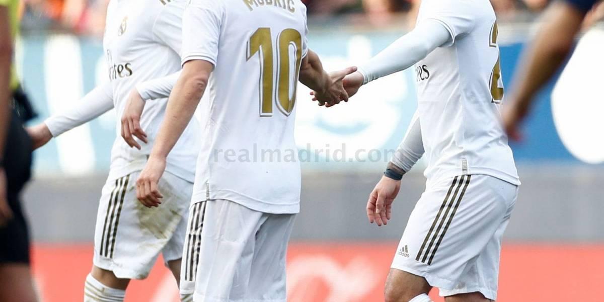 Las estadísticas de la victoria merengue en el Osasuna vs Real Madrid